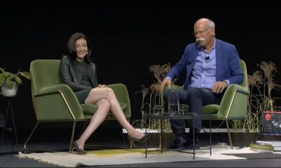 Dieter Zetsche und Sheryl Sandberg im Dialog auf der me-convention in Frankfurt (15.9.2017): Warum wir eine neue Führungskultur brauchen