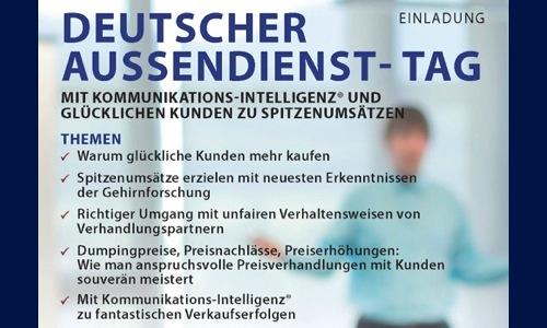 Gross ErfolgsColleg - Stefan F. Gross - Deutscher Aussendienst-Tag 2016