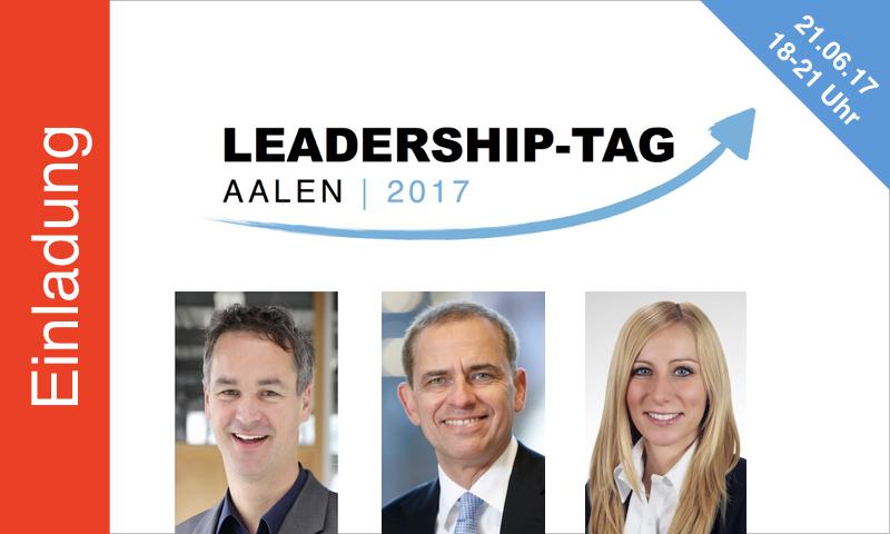Gross ErfolgsColleg / Leadership-Tag Aalen 2017